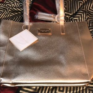 NWT Michael Kors Rose Gold Bag